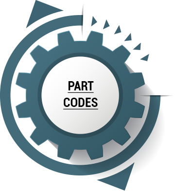 on some occasions, the part itself will have a code, though you might need to dig through the dirt and grease to see it.  Again, this can be a sure-fire way of knowing you've got the right part.