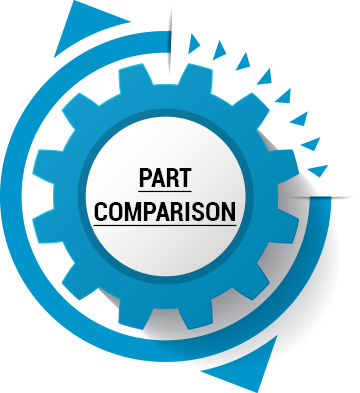 it can be possible to take the part you'll be replacing and to simply compare it to the parts available online or at your local parts store.  You'll need to be detailed in checking, though: it can help to consult those who actually work at your local dealer, as they might be able to help.
