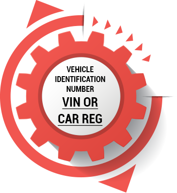 this is a number that specifically relates to your car, and can be used to locate the right part.  (Manufacturer's data tables will often store this information).